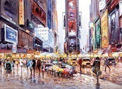 Heart of Manhattan by Henderson Cisz - Canvas on Board sized 19x14 inches. Available from Whitewall Galleries